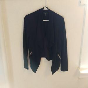 Mossimo Moto style soft jacket/cardigan